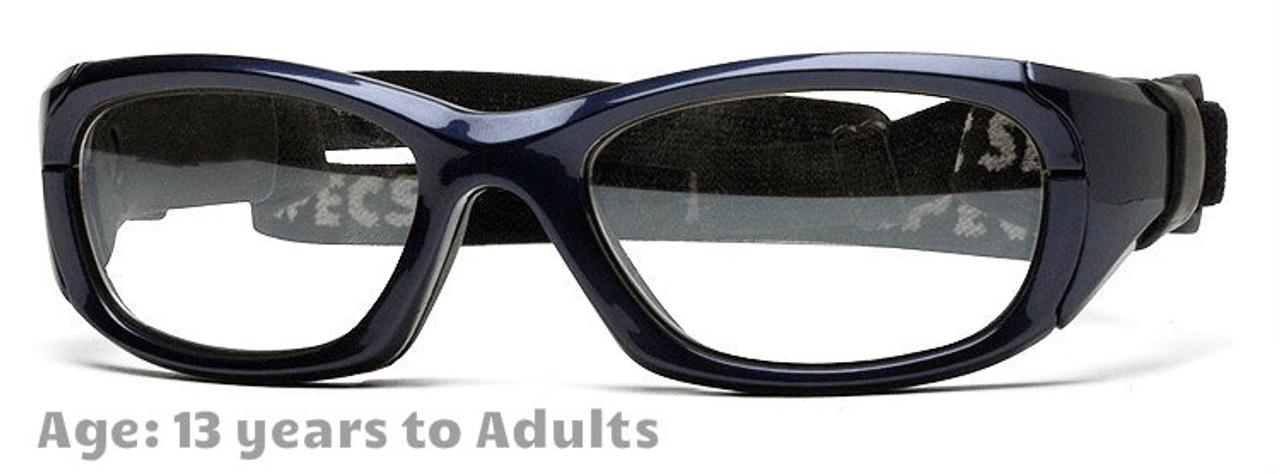 20390875d3d  13+ yrs to Adults  Rec Specs Maxx 31  Shiny Navy Blue - 53 Size  ( Prescription Rx Lenses Available)
