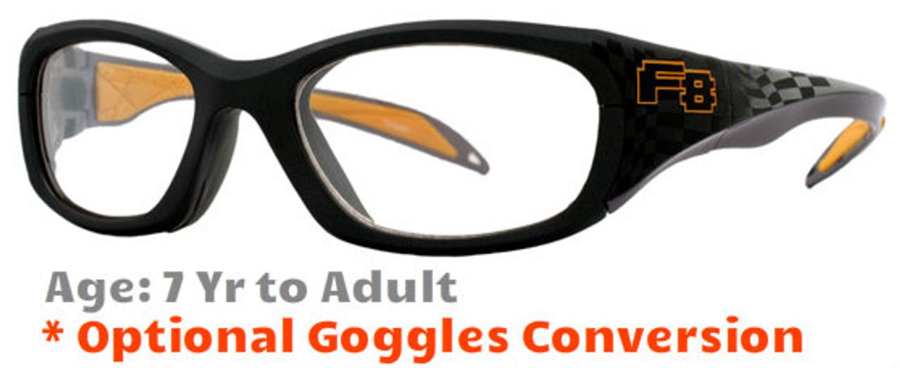 08d7c7b321b Rec Specs F8 Street Series - Raceway Sports Glasses - Goggles n More