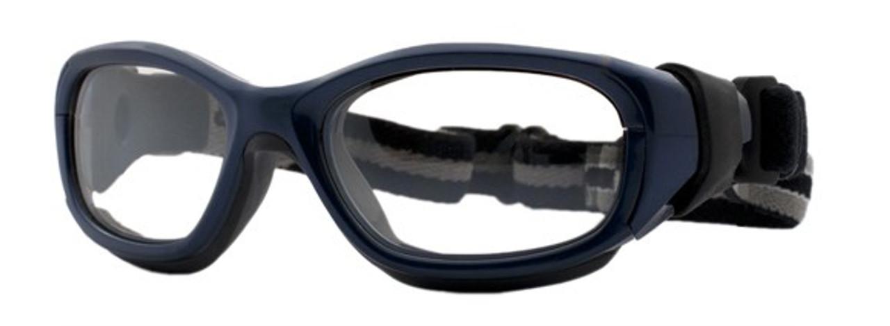 Rec Specs Liberty Sport F8 Slam Goggle- Navy Blue Dk Grey