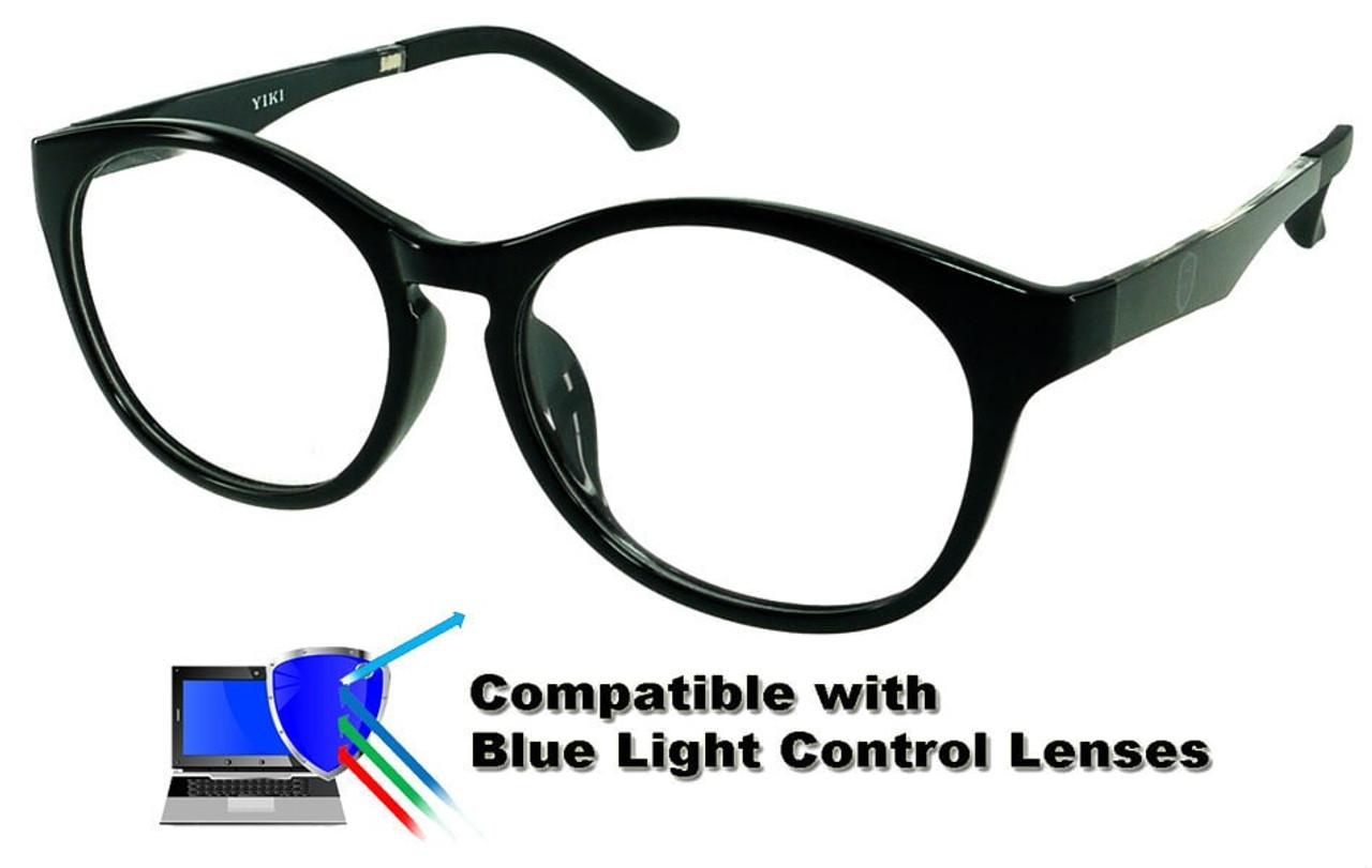 049bad8bb2200  Adults  Burlington (Black) - Prescription Glasses (Blue Light Control  Lenses Available)