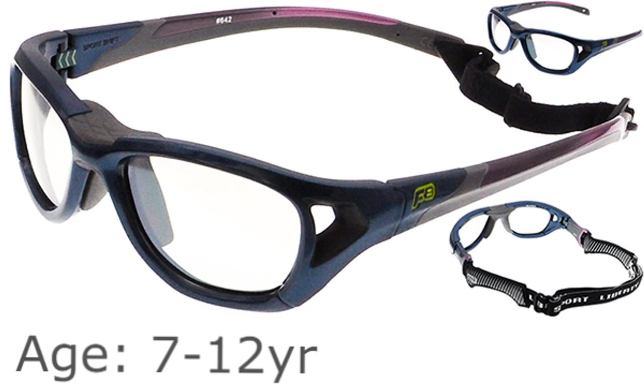 7dddd396614 Rec Specs F8 Sport Shift - Shiny Navy Blue Sports Glasses - Goggles ...
