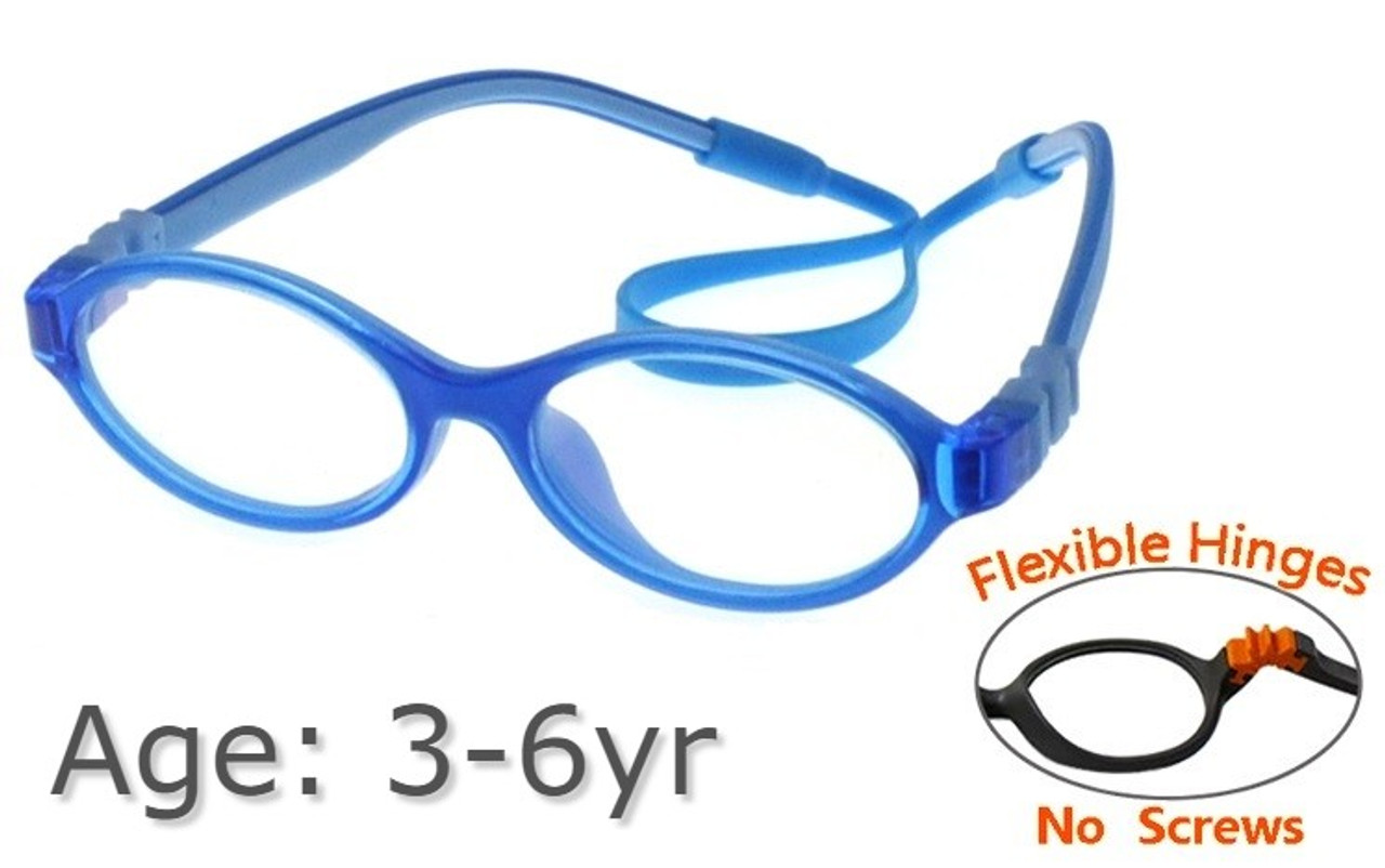 b837e75526 Flexible Kids Glasses G21806 - Blue 3-6 yrs Children Prescription ...