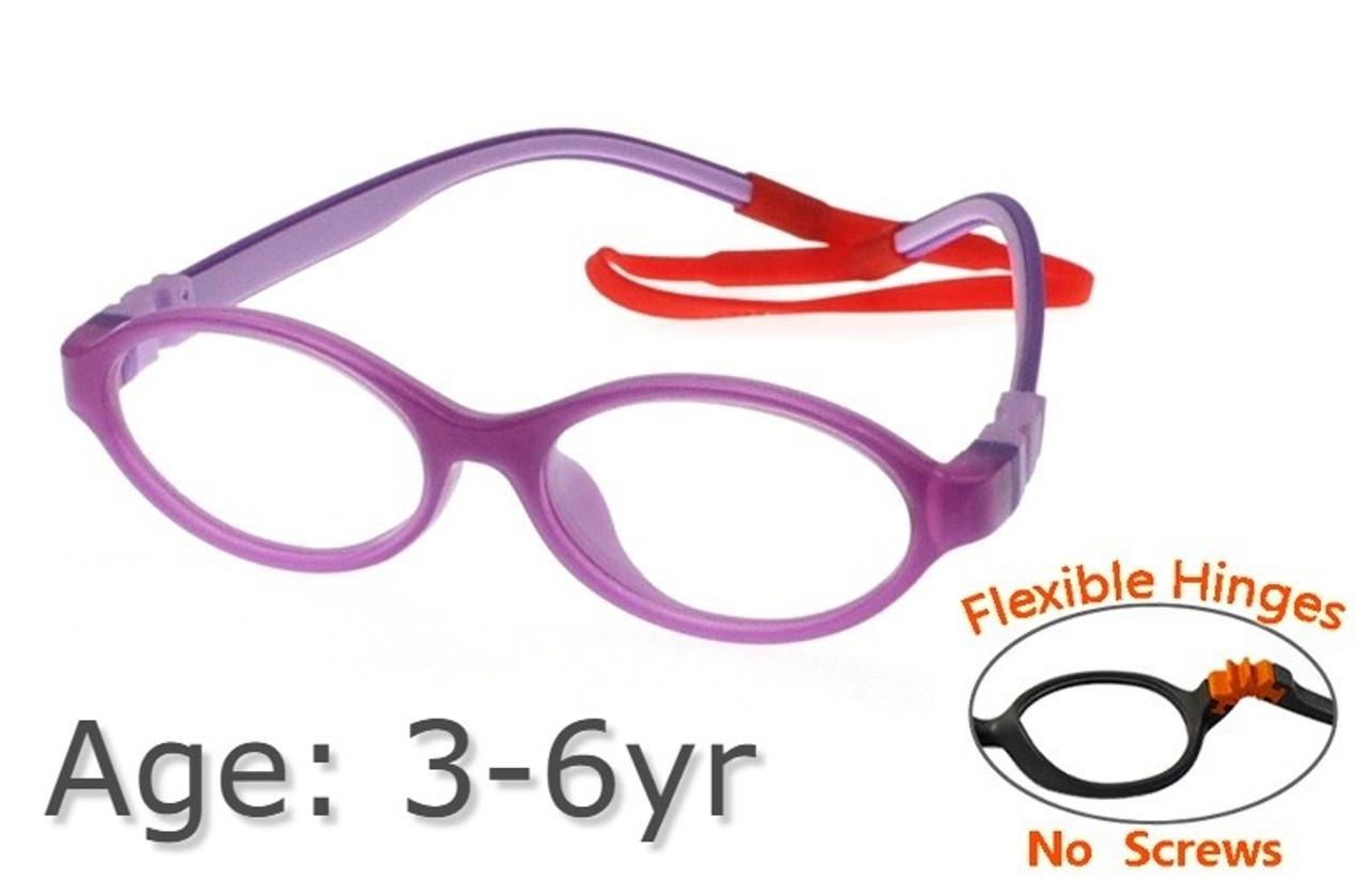 2a188fdeca Flexible Kids Glasses G21806 - Purple 3-6 yrs Children Prescription ...