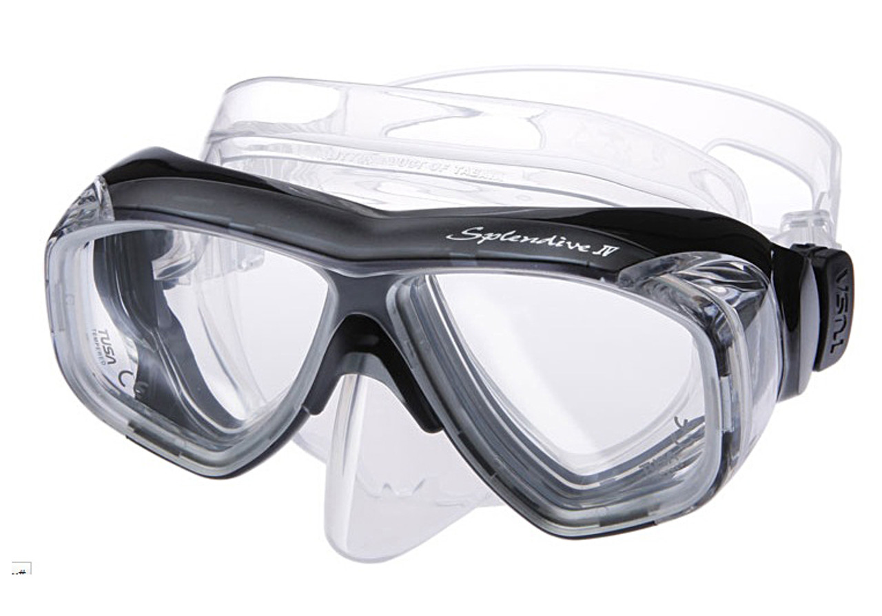 2f3b7d1bca (1) TUSA M40 Splendive IV Prescription Diving Mask in Black