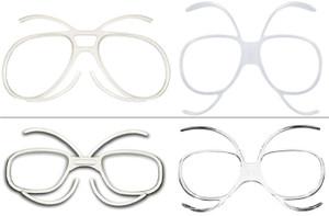 f4ca570c25 Universal Goggles Insert (Prescription Lenses Available) for Ski Goggles  Snow Boarding Goggles Motorcycle Goggles Motocross Goggles