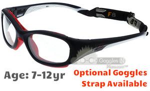 6f212ac60a Rec Specs F8 Slam Patriot Prescription Sports Glasses in Matte Navy White