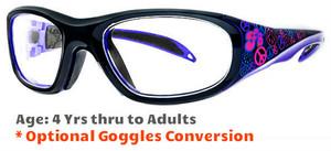 404fa7b3c000 Prescription Sports Goggles Rec Specs F8 Street Series Peace & Luv Suitable  for Ages 4 to. Rec Specs (Liberty Sport)