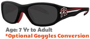 aa7b2f5efa8 Rec Specs F8 Collegiate Prescription Sports Sunglasses Suitable for Ages 7  to Adult