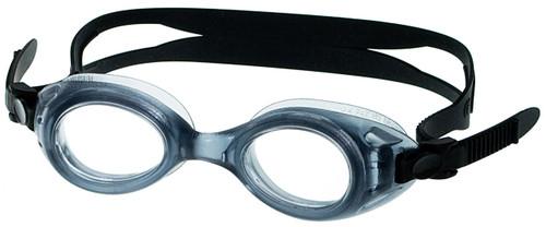 GogglesNMore S7 Kids Prescription Swim Goggles in Black