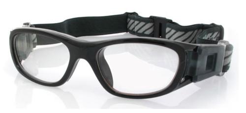 074bd3b602 (1) Kids Prescription Sports Goggles BL016 Black 120mm Frame Width ...