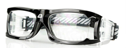 7c154480cbc4 (1) Adult Prescription Sports Goggles BL021 Black 140mm Frame Width ...