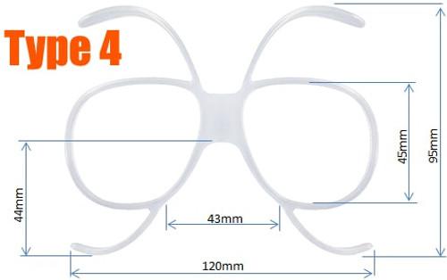 431370ad661a Prescription Ski Goggles Insert - Goggles n More