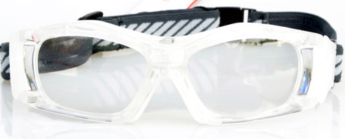 821fb08d35e3 ... Adult Sports Goggles BL023 Clear/White Front View · Adult Prescription  ...