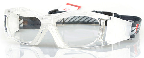 527dc209cdf1 (1) Adults Prescription Sports Goggles BL023 in Clear and White Color  Scheme with 140mm ...