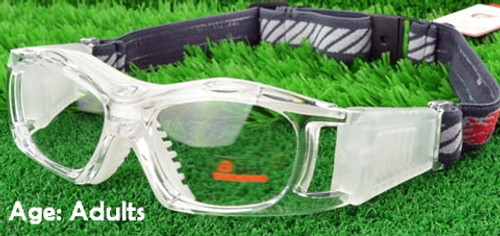2ccced4bee91 [Adults] Sports Goggles BL023 Clear/White(Prescription/Rx Lenses Available)