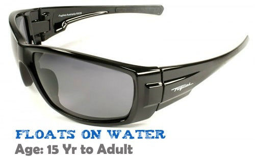 669f91887c9  15+ yrs to Adults  Fuglies RX06 Wrap Around Sunglasses  Gloss Black  ( Prescription Rx Lenses Available)