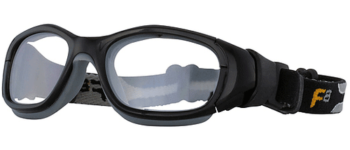 63b692c2e8 (1) Rec Specs F8 Slam Goggle XL Prescription Sports Goggles in Shiny Black  and ...