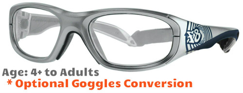518b235902a ... Prescription Sports Glasses - Rec Specs F8 Street Series Bullseye  Ripple - Suitable for Kids Aged