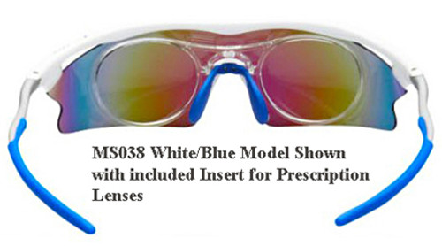0b8aba9e47 ... Sports Sunglasses · Optional Photochromic Lenses · Insert for prescription  lenses included as standard - Blue color variant shown ...