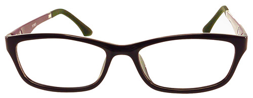 2a2976a83df ... Optional Blue Light Control Lenses Fitted · Rodessa - Purple  Prescription Glasses - Front View ...