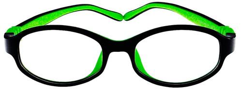 8b3877869f Kids Glasses Flexible G7002 (Black Green) Children Prescription Glasses