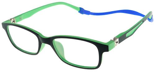 7874a12efe2 Flexible Kids Glasses - Black Green Children Prescription Glasses ...