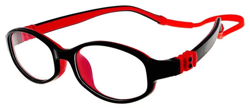 eac265e5e4 Kids Glasses Flexible - Black Red Children Prescription Glasses ...