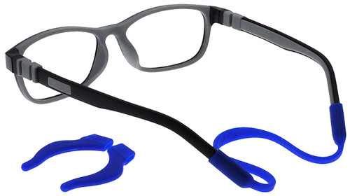 b21c66f840 Flexible Kids Glasses C6011 (Black Grey) Children Prescription Glasses