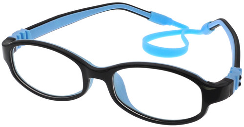 5c76b0b02c Kids Glasses Flexible - Black Blue Children Prescription Glasses ...