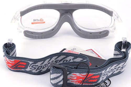 e286903ba0 ... Prescription Sports Goggles BL028 Clear Grey Back View ...