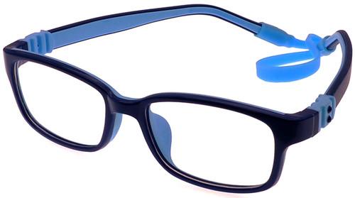 e6d4f70d987 Kids Glasses Flexible - Dark Blue Blue Children Prescription Glasses ...