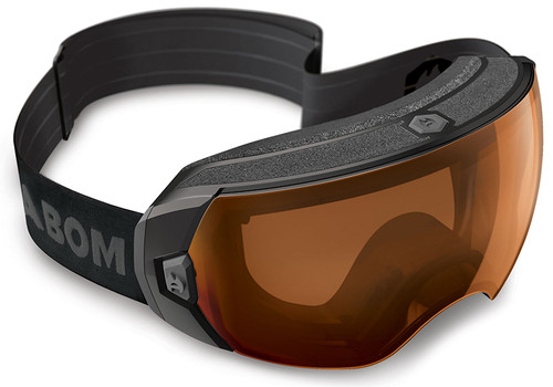 Abom Heet Copper Dome Snow Goggles with patented KLAIR one-touch defogging technology | VLT - 30%