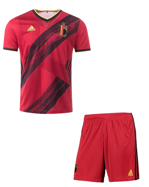 2020 Belgium  Home Kids Kit with free name and number