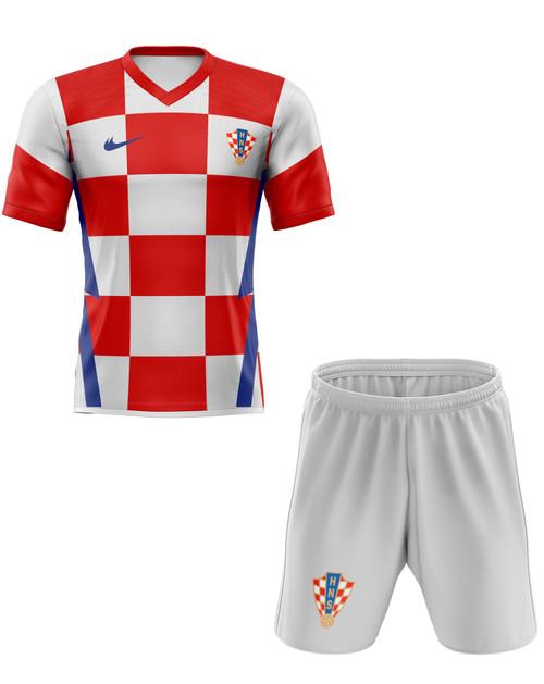 2020 Croatia Home Kids Kit with free name and number