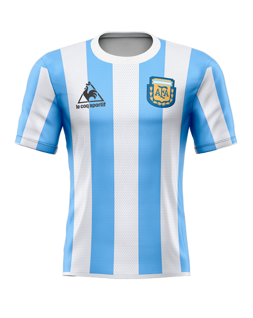 1986 Argentina Home Tribute Shirt