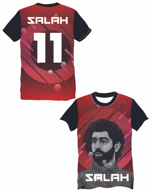 LIMITED EDITION Salah 11 Red Supporters football shirt