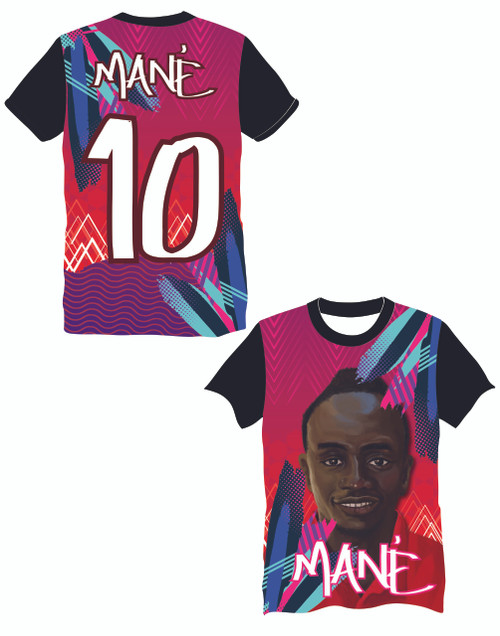 LIMITED EDITION Mané 10 Colours Supporters football shirt