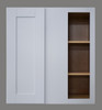 Shaker Hill Blind Door Wall Cabinet with Pocket Drawers