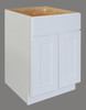 Shaker Hill Double Door Base Cabinet with One Drawer