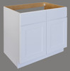 Shaker Hill Sink Base With Two False Drawer Fronts - CabinetNow.com