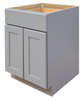 Grayson Double Door Base Cabinet with One Drawer and Soft Close Hinges