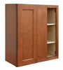Ellisen Blind Door Wall Cabinet with Pocket Drawers