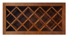 Ellisen Series Wine Bottle Rack Bridge Wall Cabinet