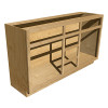 Vanity - 21in Fixed Side Opening - Maple