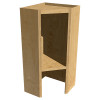 Angled Upper Appliance Cabinet