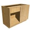 Right Blind Base Cabinet - Red Oak