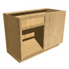 Right Blind Base Cabinet with Drawer