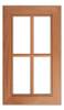 Iceland Solid Lite Cabinet Door