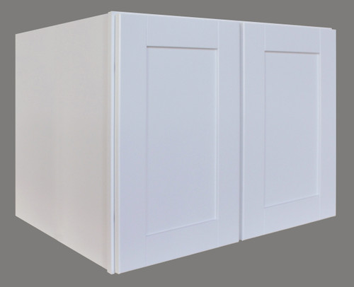 Shaker Hill Refrigerator Wall Cabinet with Soft Close Hinges