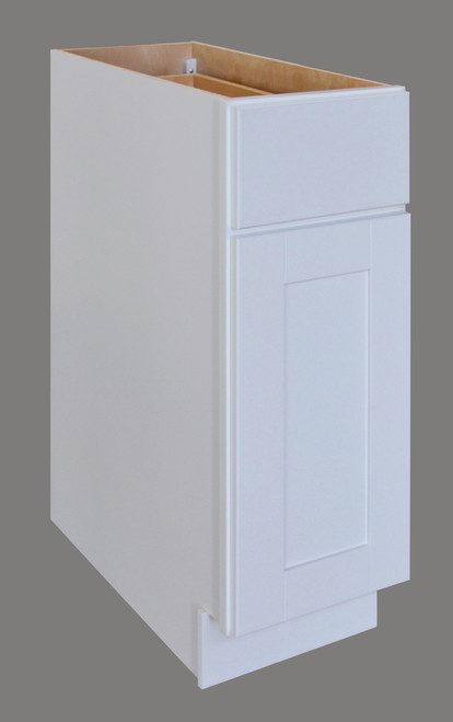 Shaker Hill Single Door Base Cabinet with Drawer